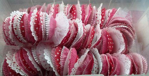 Cupcake liner garland
